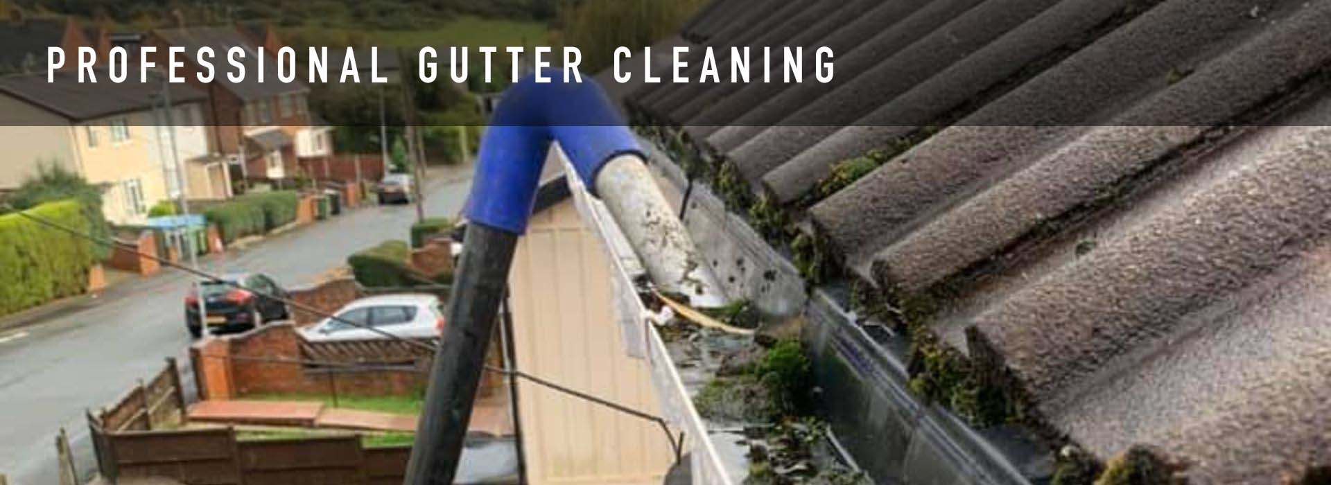gutter cleaning worcester